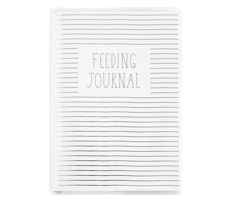 Setting up a routine for your little one is so important. Help do just that with this gorgeous Feeding Journal where you can record your baby's sleep and feeding schedule. The slim design and PVC jacket makes it so easy to take this journal with you on the go. Be sure to add a matching pen to complete the look.