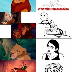 Funny Lion Meme Faces
