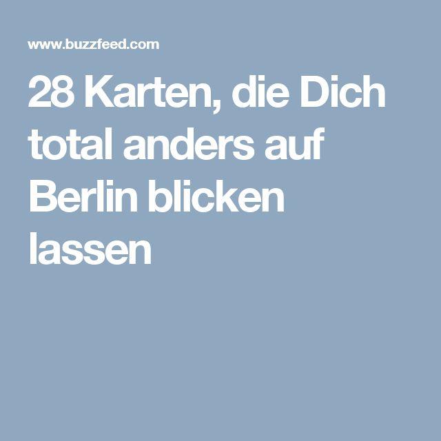 Best  Karten die Dich total anders auf Berlin blicken lassen
