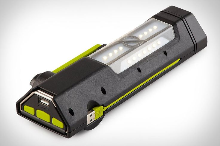Goal Zero Torch 250 Emergency Flashlight - charge via the integrated solar panel, or the convenient hand crank