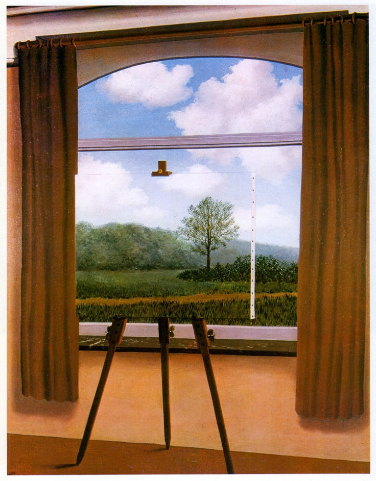 René Magritte  The Tiredness of the People 1934