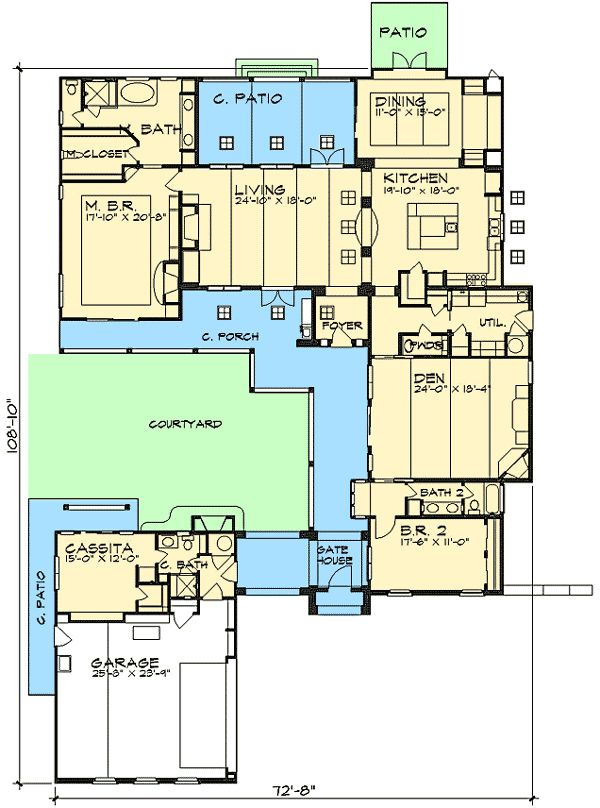 1000 images about coastal house plans on pinterest for Casita plans