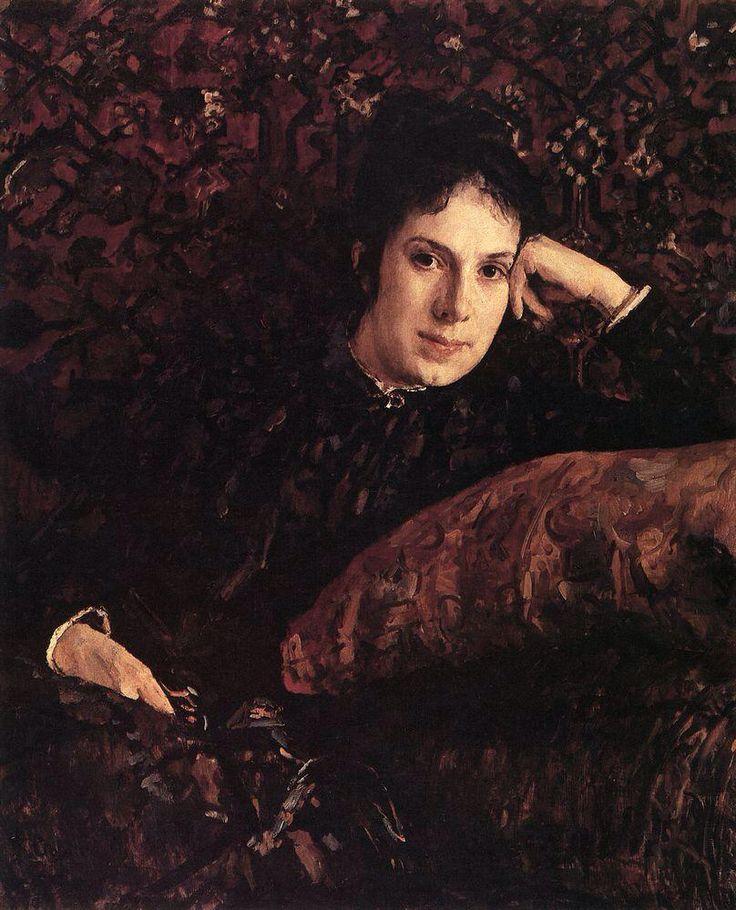 Серов В. А. Портрет Е.Н.Чоколовой, 1887