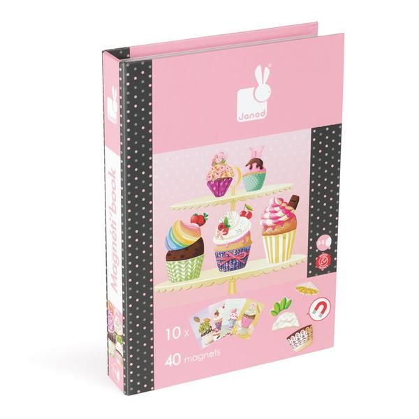 Cupcakes Magnetic Book Game (Janod)