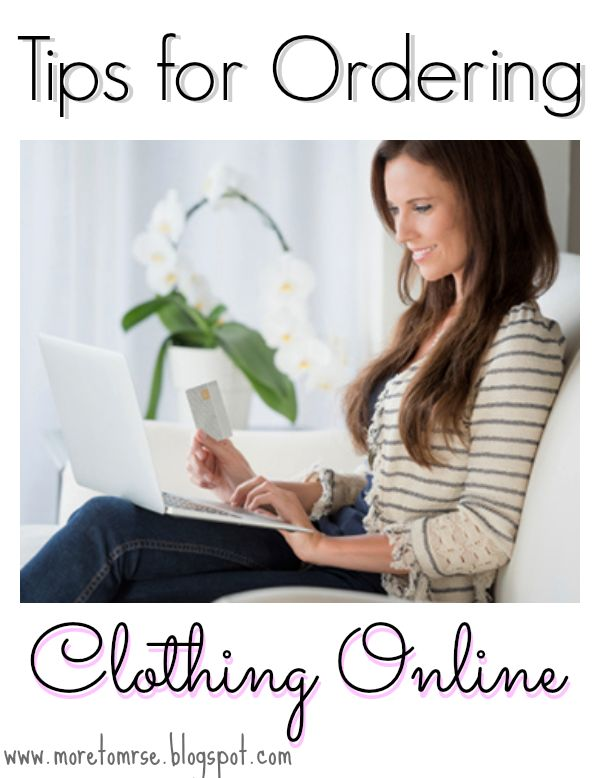 Tips for Ordering Clothes Online - What to know when Online Shopping