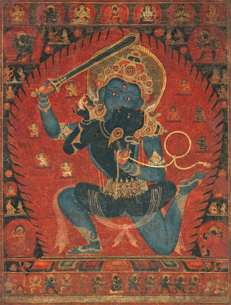 Erotic in india nepal painting sentiment