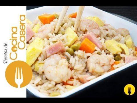 Arroz chino tres delicias casero | Recetas de Cocina Casera - Recetas fáciles y sencillas