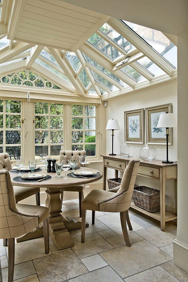 Best 25 conservatory roof blinds ideas on pinterest for Sunroom dining room ideas