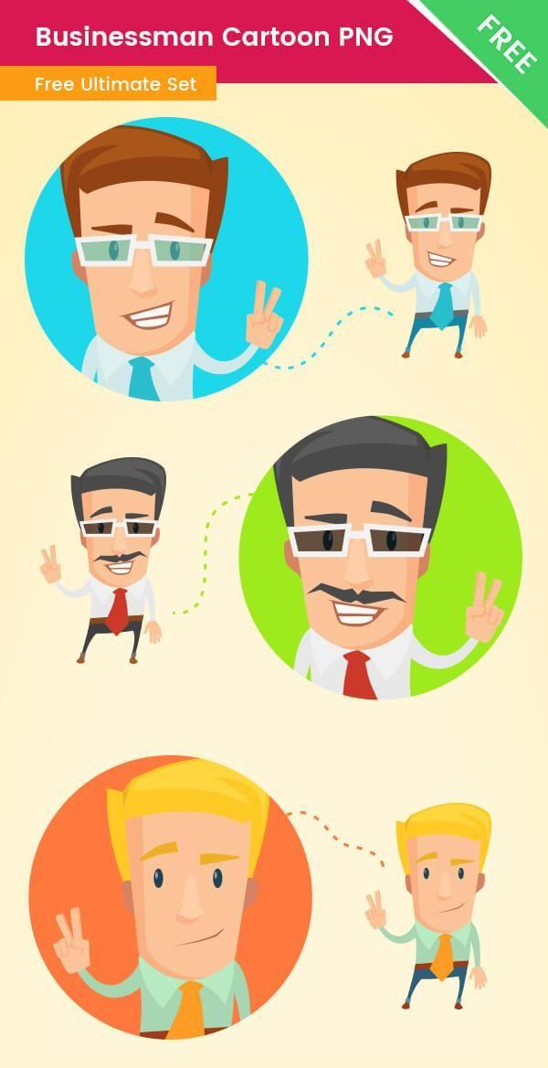 Businessman Cartoon Png