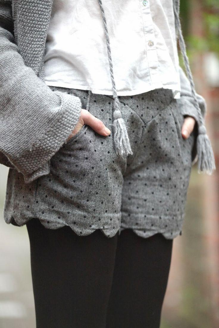 Cath, couture & co: Mon short Chataigne www.creations-savoir-faire.com #SalonCSF