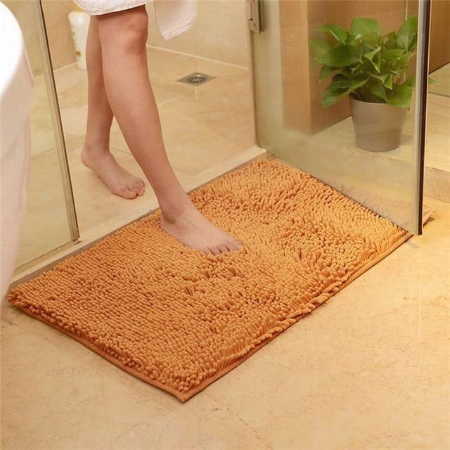 Hartley Non Slip Shaggy Microfiber Mat Hartley Largebathroomrugsbathmats Mat Microfib Colorful Bath Bathroom Rugs Area Carpet