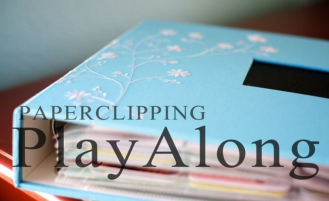 Sounds fun/ Paperclipping Play Along | The perfect motivation if you have a Project Life album that isn't quite finished!
