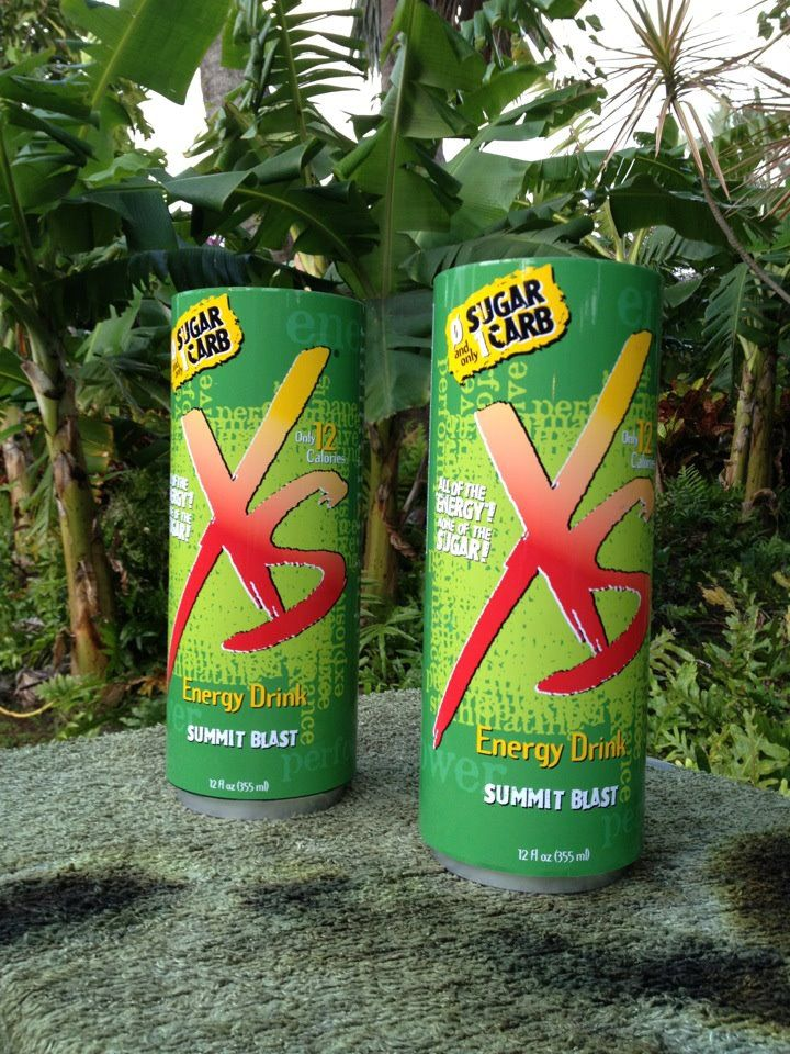 xs energy drink summit blast a low carb sugar free
