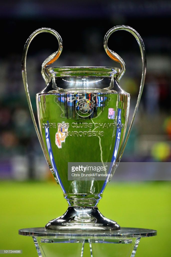 the uefa champions league trophy is seen before the uefa super cup between real madrid and atletico madr uefa super cup lionel messi wallpapers atletico madrid uefa super cup lionel messi wallpapers