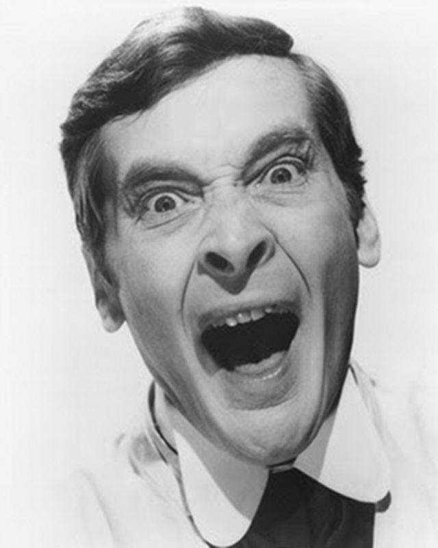 "Kenneth Williams As Doctor Watt ~ Carry On Screaming.   ""Frying tonight!"""