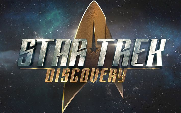 Hämta bilder Star Trek Upptäckt, 2018, TV-Serier, emblem, affisch, logotyp, nya filmer
