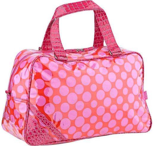 Red Polka Dot Overnight Bag/Holdall from Lulu Australia available at KidsDoTravel  http://kidsdotravel.co.uk/childrens-holdalls-and-overnight-bags/polka-dot-red-overnight-weekend-bag-p-622