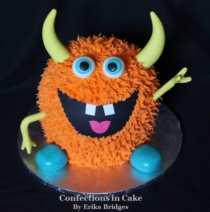 'Lil Monster cake