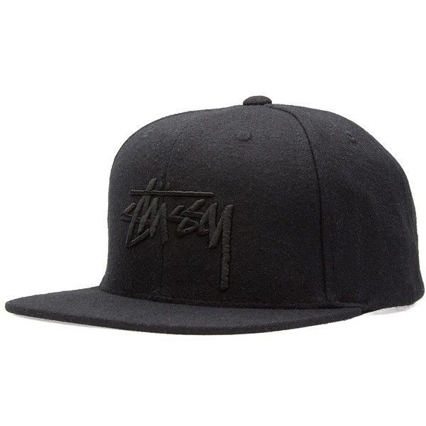 Stussy Stock Tonal Wool Cap (200.550 COP) ❤ liked on Polyvore featuring men's fashion, men's accessories, men's hats, mens wool hat, mens beach hat, mens snapback hats and mens caps and hats