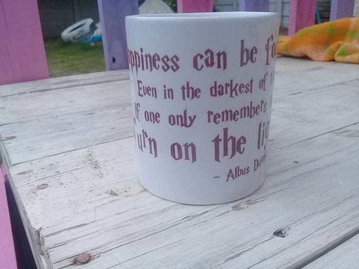 Happiness can be found Quote mug