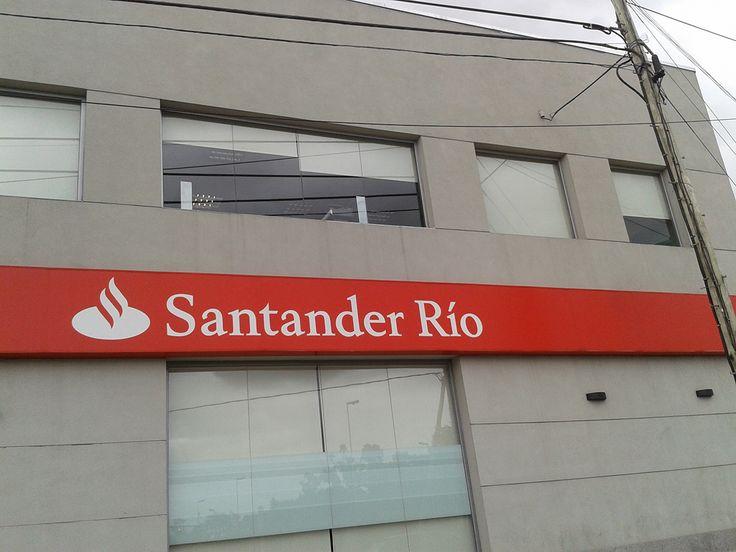 Cortinas Roller Obra Banco Santander Río Florencio Varela