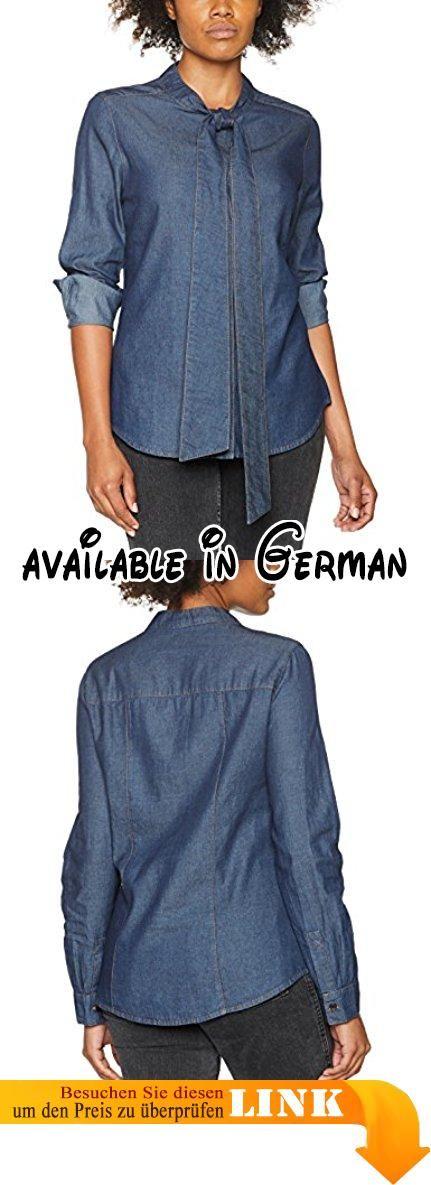 Maerz Damen Bluse 179300, Blau (Jeans 354), 42. Schluppenbluse. Jeans #Apparel #SHIRT
