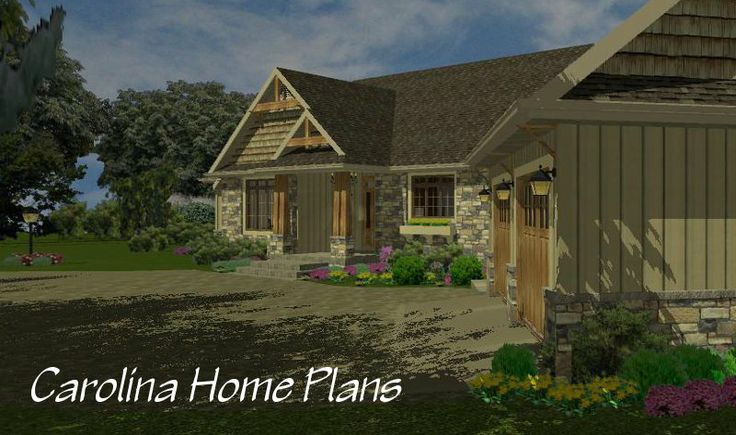 42 best house plans in 3d images on pinterest 3d house for Garage ms auto
