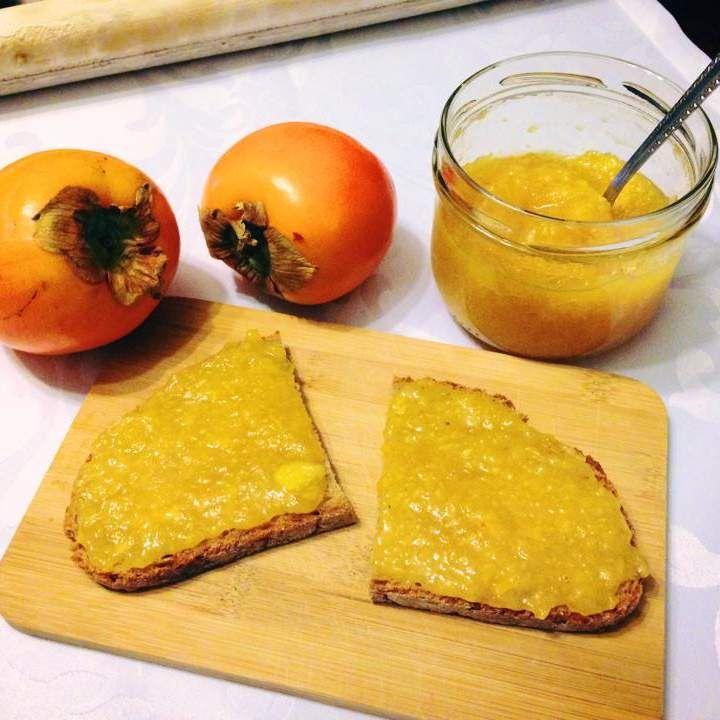 Rezept Kaki-Zimt Marmelade von Kochspaßfee - Rezept der Kategorie Saucen/Dips/Brotaufstriche