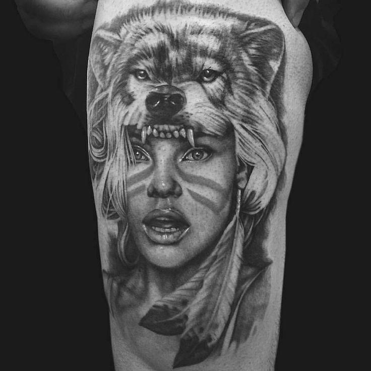 #Repost @backinktime ・・・ Jimi May @jimimay from @_littletokyo_ in #sydney #newsouthwales did this #blackandgreytattoo #realistictattoo #girltattoo #wolftattoo #inkappreciation #tattoo #ink #art #australia #tattooblogger #backinktime #inkformer #tattoo #tattoos #inked