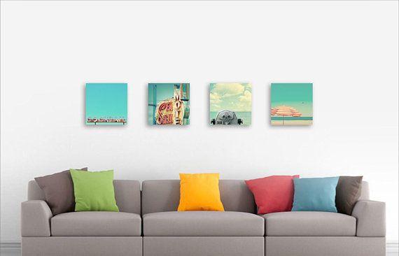 Set Of 4 Prints 12x12 Or 10x10 Choose Your Wall Art Set Of Art Prints Custom Home Decor Modern Wal Modern Wall Art Fine Art Photography Print Retro Modern