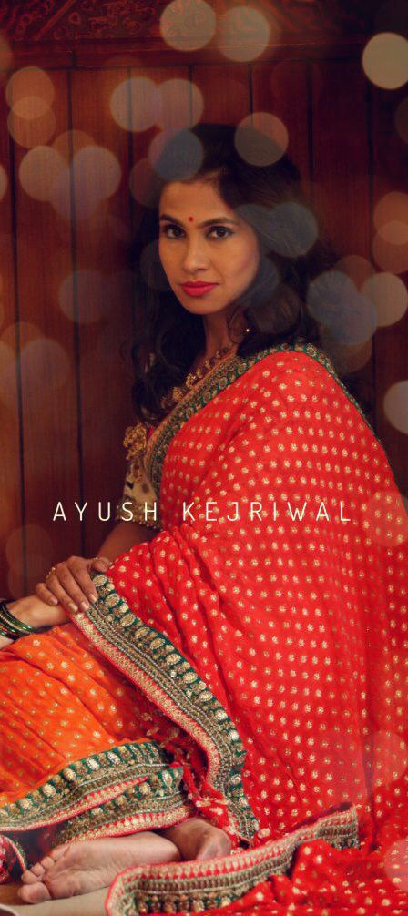 Saree by Ayush Kejriwal For purchases email me at ayushk@hotmail.co.uk or what's app me on 00447840384707 We ship