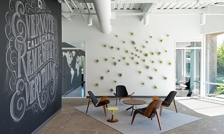 Evernote office by O+A, Redwood City - California
