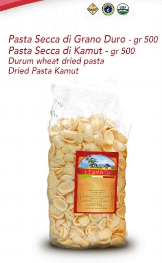 Durum wheat dried Pasta & dried Pasta Kamut