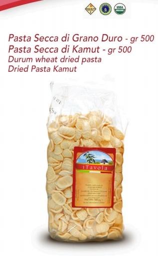 Durum wheat dried Pasta & dried Pasta Kamut