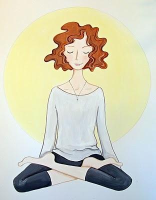 surrenderTantra Yoga Spirit, Illustration Girls, Yoga Fit, Yoga A Lifestyle, Yoga Meditation, Surrender Yoga, Elephant Journals, Wonder Women Illustration