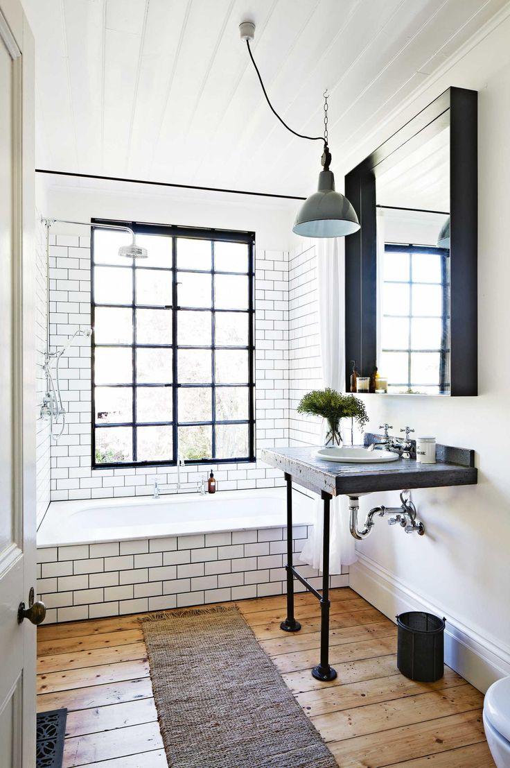 Bathroom Industrial Subway Tiles Mar14