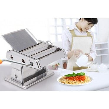 Pasta Machine Maker Roller with Triple Cutter