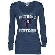 Detroit Pistons 5th & Ocean by New Era Women's Glitter Logo Tri-Blend Long Sleeve T-Shirt – Royal Blue It's time for the greatest deal of the YEAR! Save 30% on orders over $60 when you use the code: CFLASH. Don't wait, inventory is limited!