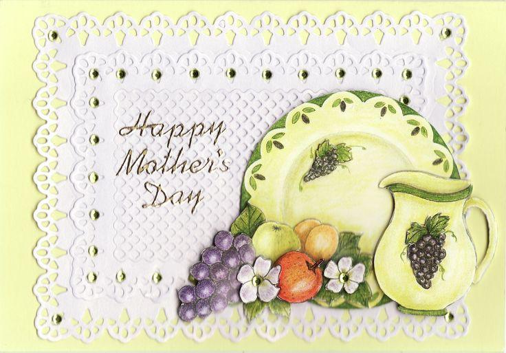 3D 'Happy Mother's Day' Card (Tassie Scrapangel)