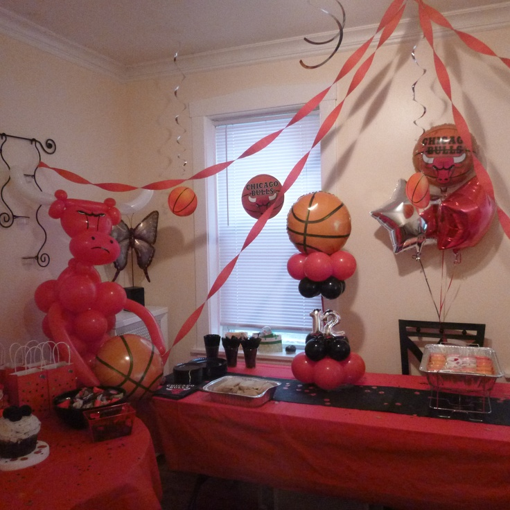 Birthday Celebration Chicago Style: 69 Best Images About Chicago Bulls Themed Party On