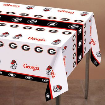 Georgia Bulldogs Table Cover