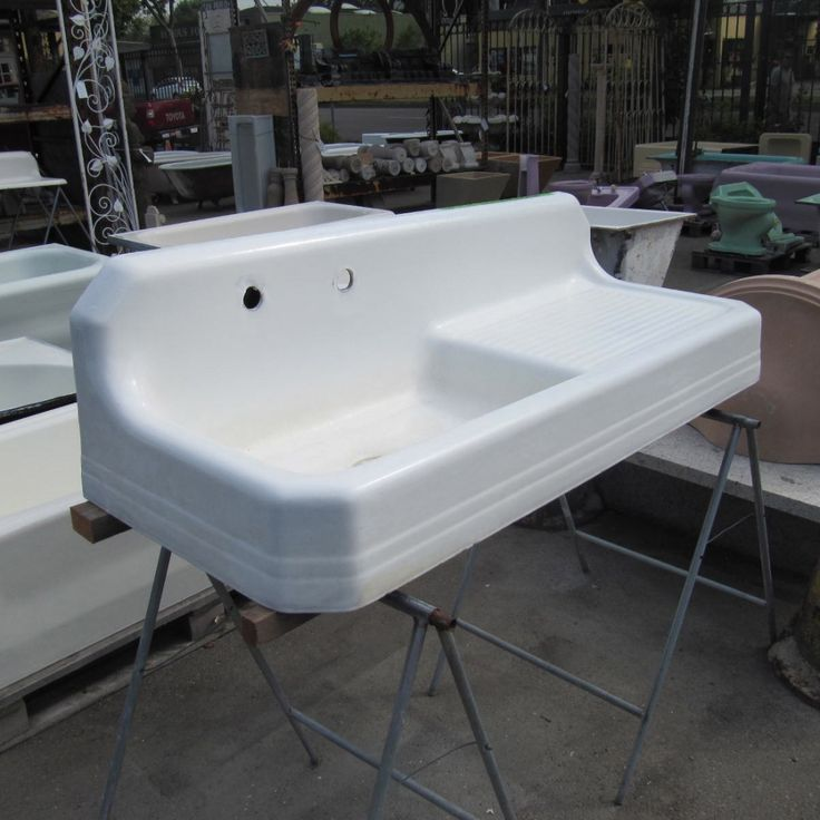 American Standard Deco Kitchen Sink | Ohmega Salvage