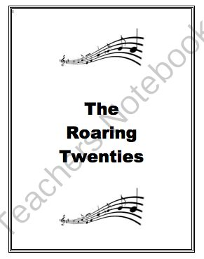 best roaring twenties images s jazz age and  roaring twenties from inspire the love of learning on teachersnotebook com this unit