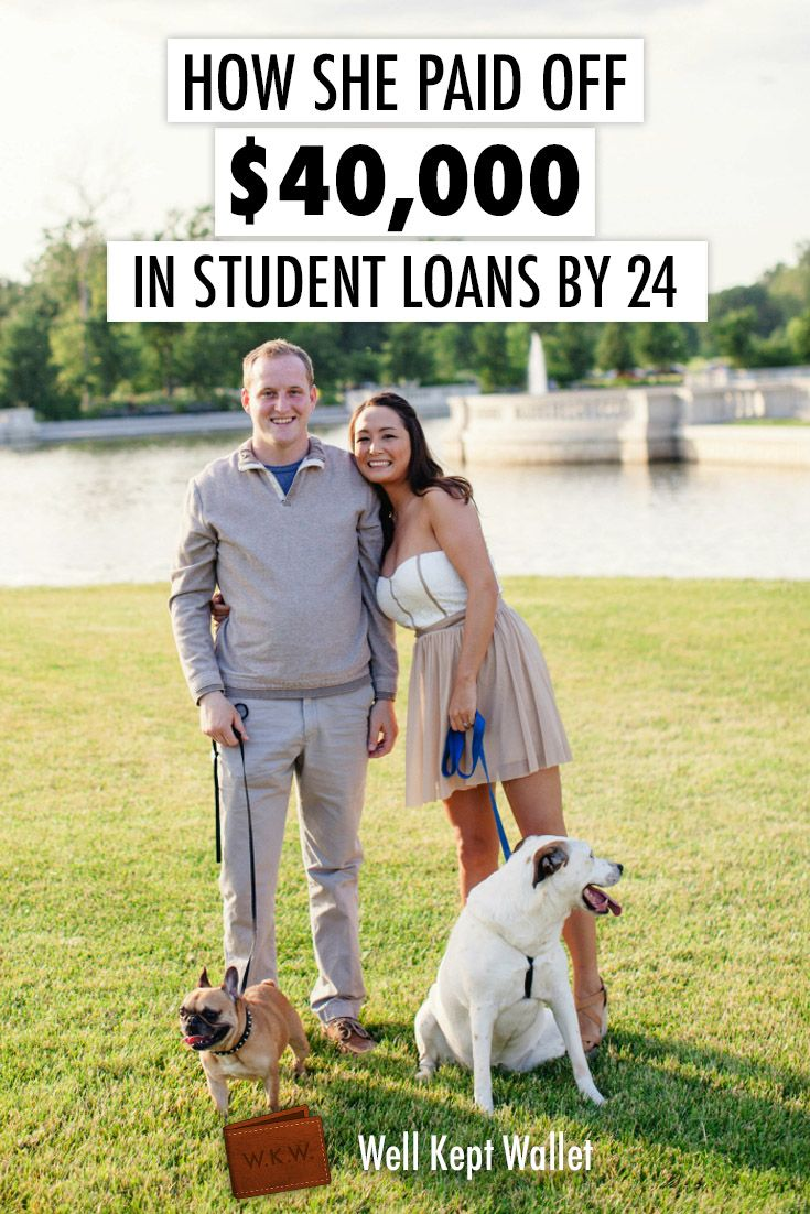 How One Girl Paid Off $40,000 in Student Loan Debt by 24