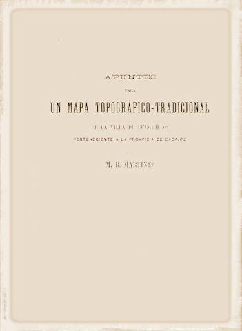 Apuntes para un mapa topográfico tradicional de la...