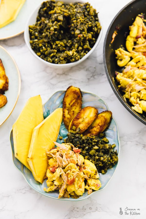 Vegan Ackee And Saltfish Jamaican Breakfast Feast