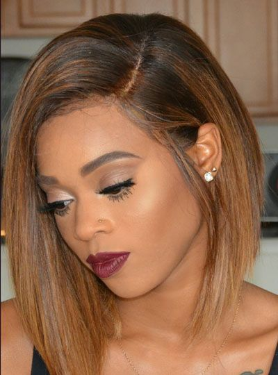 Full Lace Wigs|Lace Front Wigs|Lace Wigs @ RPGSHOW Hairstylist Anthony Sexy BOB Hair - AnthonyCuts015 [AnthonyCuts015] - Real product photo info: hair color: #5/#6D hair length: 12