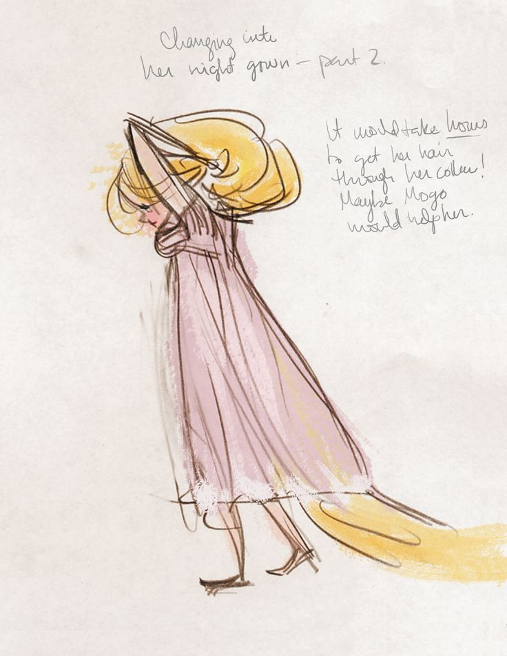 I find it so incredibly ironic that the day Chris Oatley's podcast airs - in which I speak at great length about developing the character of Rapunzel for the movie, Tangled, Variety announces the Tangled TV Show for which I've been …developing the character of Rapunzel. Rapunzel is back, guys.