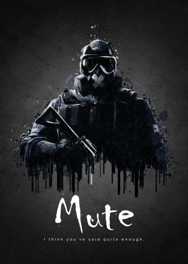 Operator Mute From Rainbow Six Siege Operator Mute From Rainbow