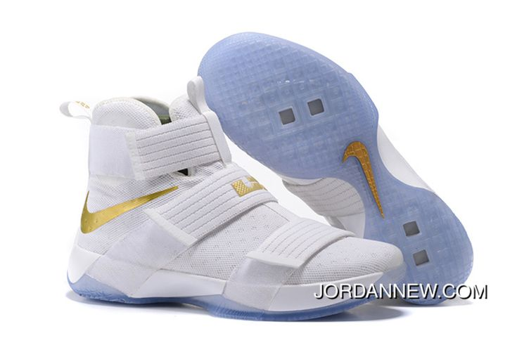 "http://www.jordannew.com/2016-christmas-day-nike-lebron-soldier-10-white-and-gold-copuon-code-5ymrnxx.html 2016 ""CHRISTMAS DAY"" NIKE LEBRON SOLDIER 10 WHITE AND GOLD FREE SHIPPING DXF48 Only $99.92 , Free Shipping!"